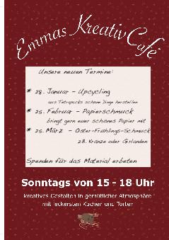 Emmas Kreativcafé Veranstaltungen