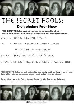 plaat secret fools